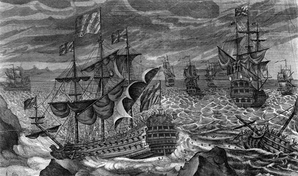 Determining a ship's longitude through crowdsourcing