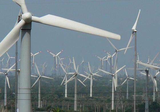 Wind turbine picture