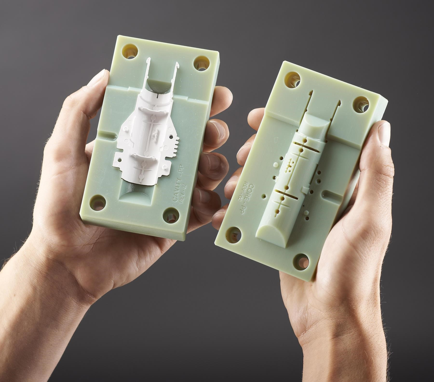 Injection mold example