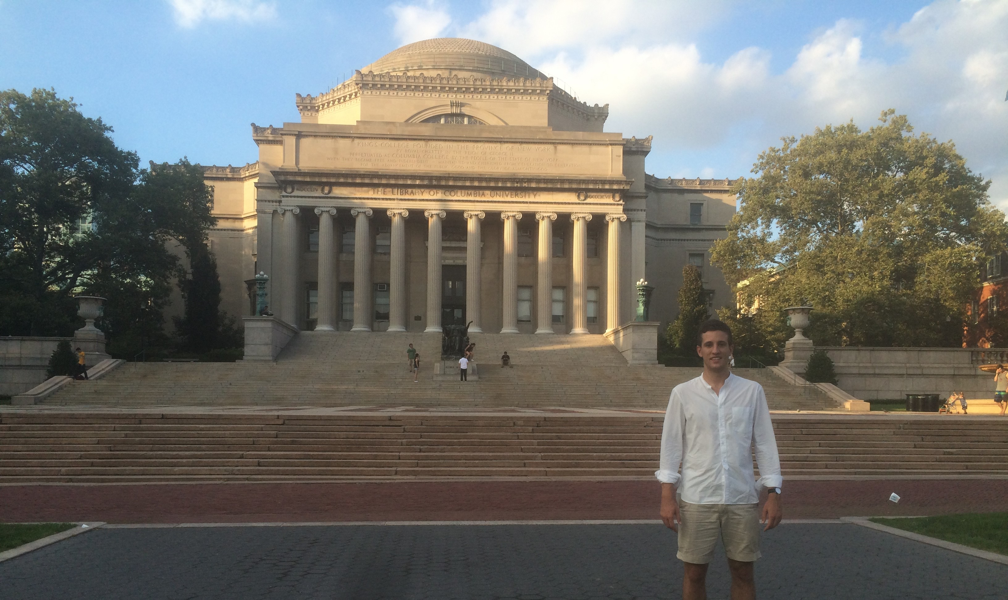 engineering student Columbia University