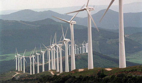 wind energy storage