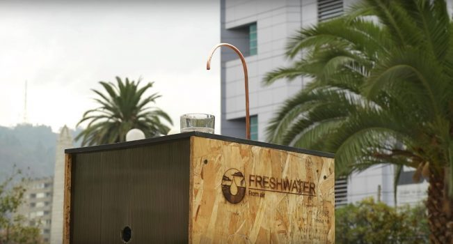 Recovering Water from Air - FreshWater Solutions