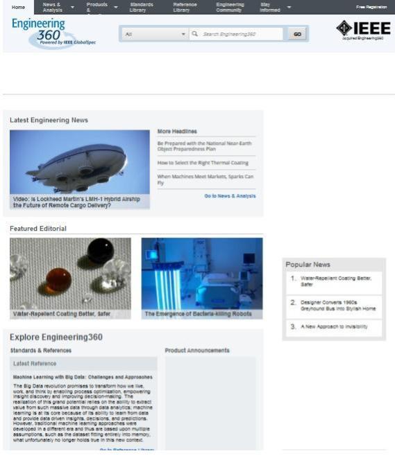 engineering websites