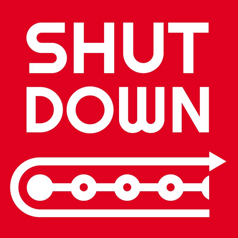 shutdown app