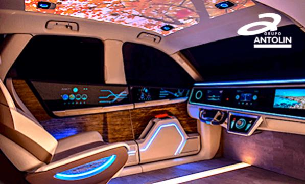 iluminación interior coche