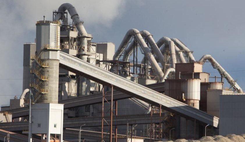 producción de cemento
